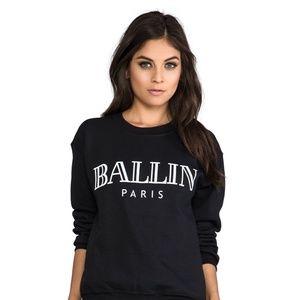 Ballin Paris Sweatshirt - Bltee Brian Lichtenberg